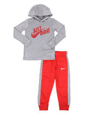Sets - 2 Pc JDI Hooded Pullover &  Jogger Pants Set (4-7)-2579496