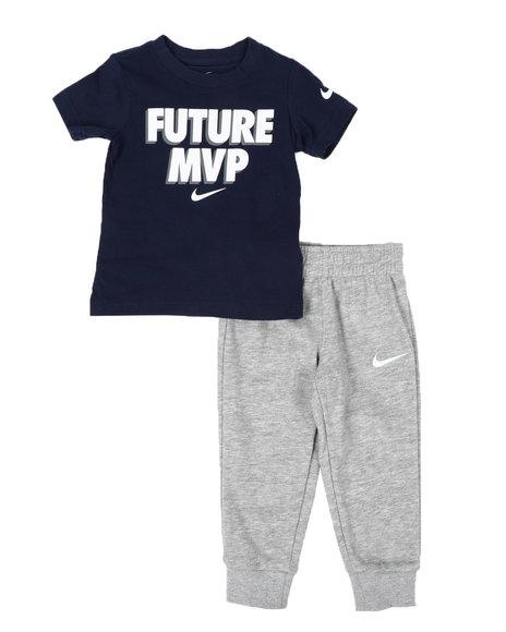 Nike - 2 Pc Tee & Jogger Pants Set (2T-4T)