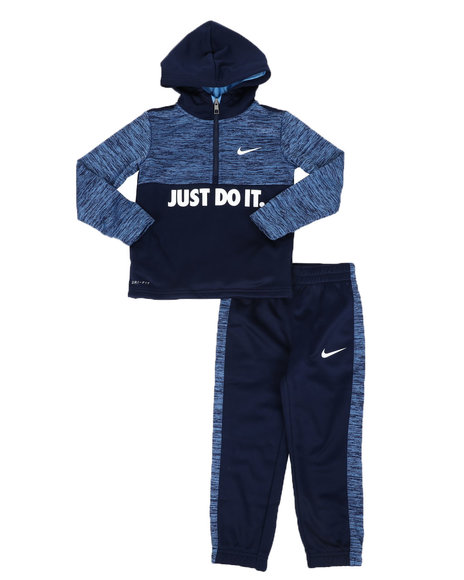 Nike - 2 Pc JDI Therma Pullover Hoodie & Jogger Pants Set (4-7)