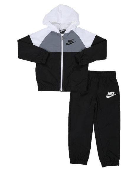 Nike - 2 Pc Windrunner Full Zip Hooded Jacket & Jogger Pants Set (4-7)