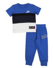 Boys - 2 Pc Nike Air Color Block Tee & Jogger Pants Set (2T-4T)-2579543