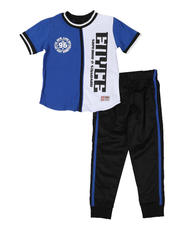 Boys - 2 Pc Split Tee & Jogger Pants (4-7)-2579551