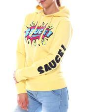 Fashion Lab - Sauce Printed Hoodie-2582914