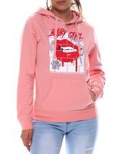 Fashion Lab - Baby Girl Printed Hoodie-2582811