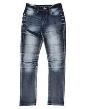 Boys - Stretch Biker Jeans (8-18)-2582121