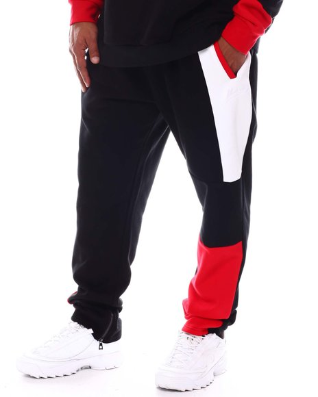 Makobi - Stay Focused Colorblock Sweatpants (B&T)
