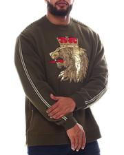Sweatshirts & Sweaters - Lion Crown Fleece Sweatshirt (B&T)-2584139