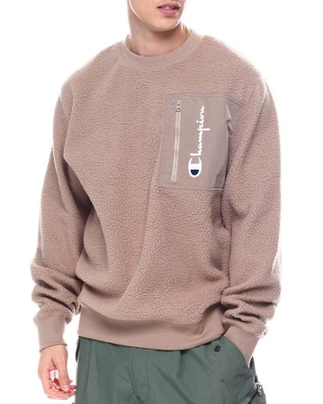 Champion - Sherpa Crew Sweatshirt