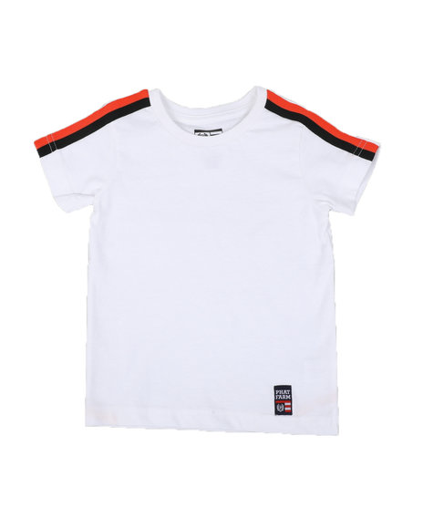 Phat Farm - Solid Tape Trim Crew Neck Tee (2T-4T)