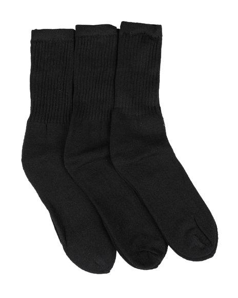 Buyers Picks - 3 Pk Cotton Crew Socks