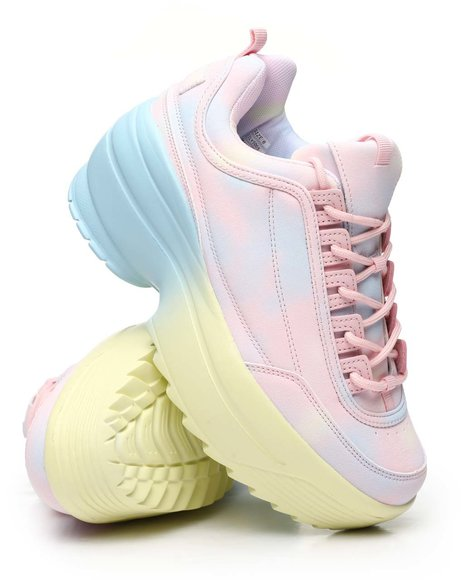 Fashion Lab - Platform Pastel Sneakers
