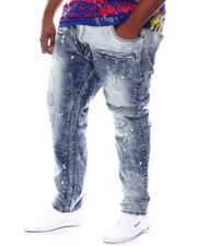 Makobi - Biker Jeans With Bleach Spots (B&T)-2584636