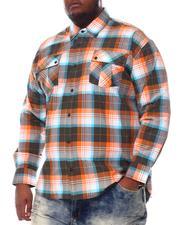 Buyers Picks - Plaid Woven Long Sleeve Shirt (B&T)-2584643