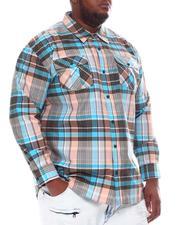 Buyers Picks - Plaid Woven Long Sleeve Shirt (B&T)-2583661