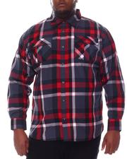 Buyers Picks - Plaid Woven Long Sleeve Shirt (B&T)-2584804