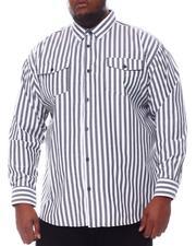 Buyers Picks - Striped Woven Long Sleeve Shirt (B&T)-2584819