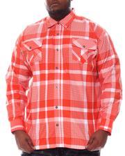 Buyers Picks - Plaid Woven Long Sleeve Shirt (B&T)-2584861