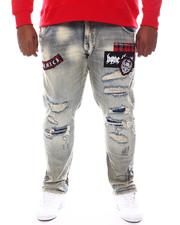 SMOKE RISE - Distressed Denim Jeans (B&T)-2584585