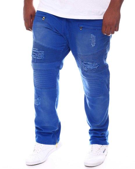Makobi - Zip Bottom Moto Jeans (B&T)