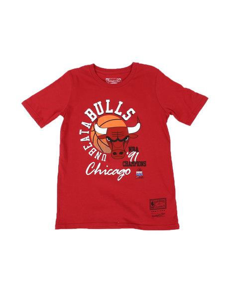 Mitchell & Ness - UnbeataBulls '91 T-Shirt (8-20)