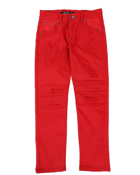 Arcade Styles - Rip & Repair Moto Jeans (8-18)