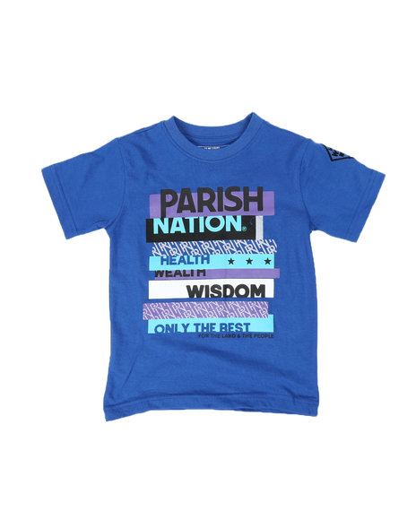 Parish - Parish Nation Graphic Crew Neck T-Shirt (4-7)