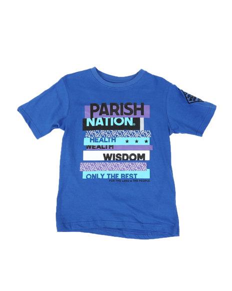 Parish - Parish Nation Graphic Crew Neck T-Shirt (8-20)