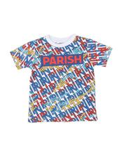 Boys - Parish Logo All Over Verbiage Print T-Shirt (2T-4T)-2585462