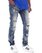 SMOKE RISE - Slim Fit Distressed Jean-2582625