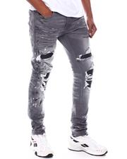 Jordan Craig - Sean Distressed Paint splatter PU patch Jean-2585160