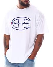 Champion - Big C Script In Middle Tee (B&T)-2582457