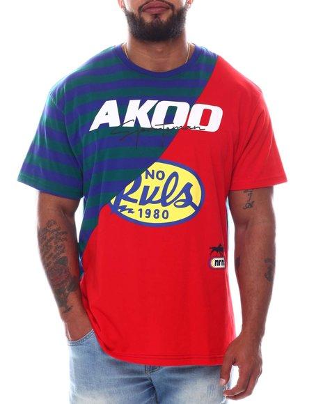AKOO - Splitter Knit T-Shirt (B&T)