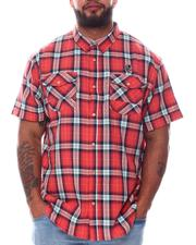 Men - Rhoads Plaid Short Sleeve Woven Shirt (B&T)-2585182
