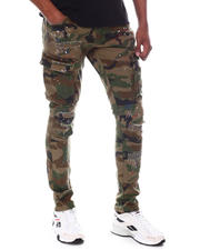 Jeans & Pants - Distressed Camo Twill Pant-2585194