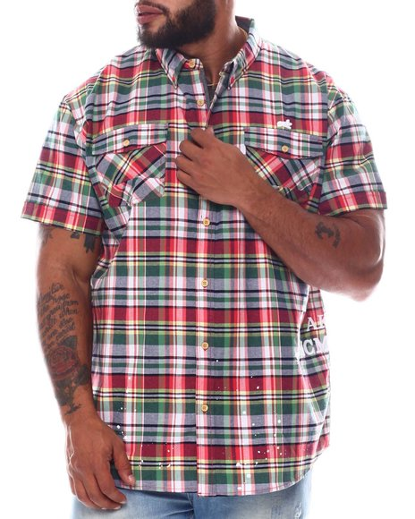AKOO - 1980 Woven Plaid Shirt (B&T)