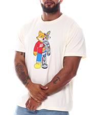 AKOO - Dual Split Stone Printed Art T-Shirt (B&T)-2584933
