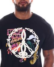 AKOO - King Embroidered Print T-Shirt (B&T)-2584761