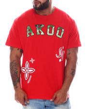AKOO - Stud Camo Patchwork T-Shirt (B&T)-2584980