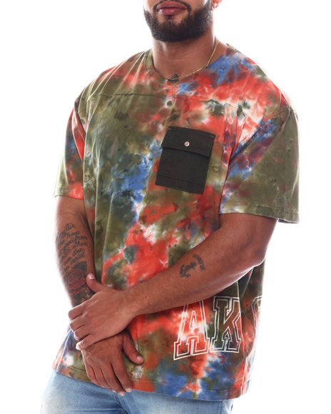 AKOO - Kaleidoscope Short Sleeve Knit T-Shirt (B&T)