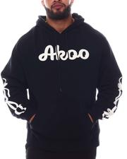 AKOO - Absolute French Terry Embroidered Pullover Hoodie (B&T)-2585018