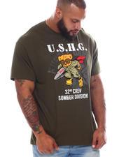 Hustle Gang - Bomber Bear T-Shirt (B&T)-2585069
