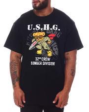 Hustle Gang - Bomber Bear T-Shirt (B&T)-2585098