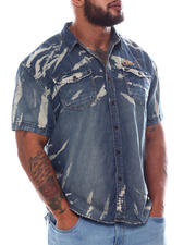 Men - Wildling Denim Woven Shirt (B&T)-2585157