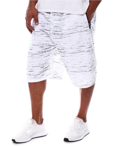Brooklyn Cloth - Streaky Print Zip Pocket Shorts (B&T)