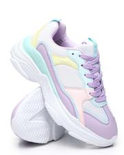 Fashion Lab - Colorblock Pastel Sneakers-2584269