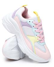 Fashion Lab - Colorblock Pastel Sneakers-2584282