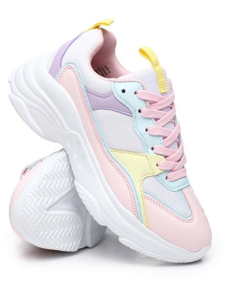 Fashion Lab - Colorblock Pastel Sneakers