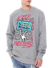 Sweatshirts & Sweaters - KEEP PLAYING HARD SWEATSHIRT-2586692