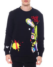 Buyers Picks - LUCKY CHARM SWEATSHIRT W/LARGE PRINT-2586676