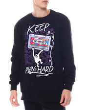 Sweatshirts & Sweaters - KEEP PLAYING HARD SWEATSHIRT-2586665